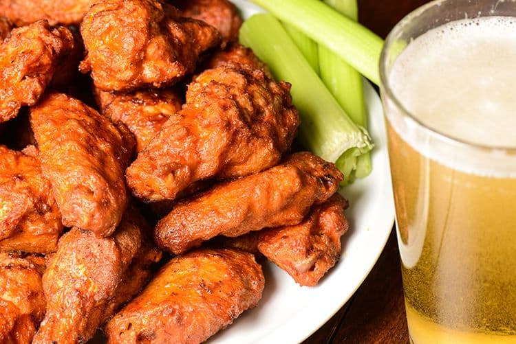 Wings and Beer at Goathouse Brewing