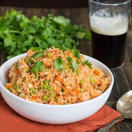 Fried Rice and Beer at Goathouse Brewing